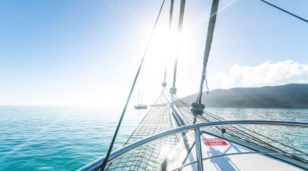 Feel the wind in your hair as you take in the view from the Bow